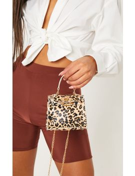 Leopard Print Mini Bag by Prettylittlething