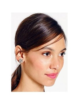 Kate Spade New York Silver Bourgeois Bow Stud Earrings by Kate Spade New York