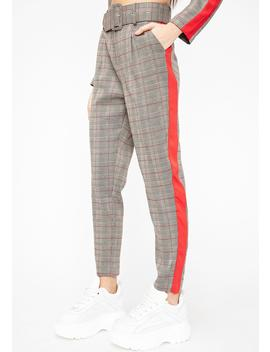 Cooley High Plaid Trousers by Clara Story