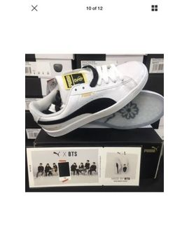 Puma X Bts Basket Patent Sneakers (Sz 4.5 M, 6 W) (Brand New From Us Puma Store) by Puma