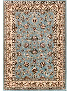 """Well Woven Barclay Sarouk Light Blue Traditional Area Rug 5'3"""" X 7'3"""" by Well Woven"""