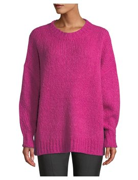 Sayers Crewneck Pullover Sweater by Etoile Isabel Marant