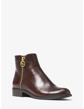 Jaycie Leather Ankle Boot by Michael Michael Kors