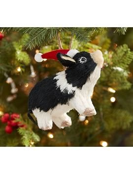 Sisal Pig Ornament by Pottery Barn