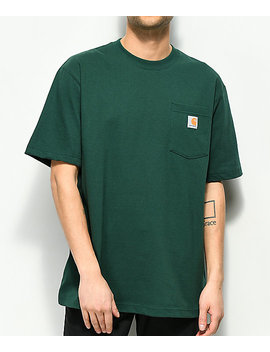 Carhartt Workwear Hunter Green Pocket T Shirt by Carhartt