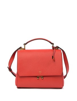 Leather Satchel by Mcm