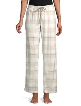 Lazy Days Cotton Twill Pants by Pj Salvage