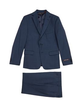 Solid Wool Suit by Michael Kors