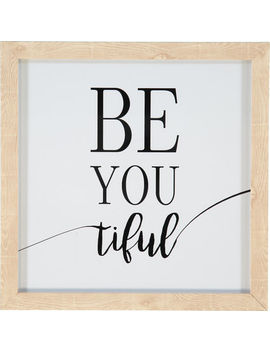 Be You Tiful 30x30cm by Star Home