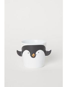 Pingvines Motívumos Bögre by H&M