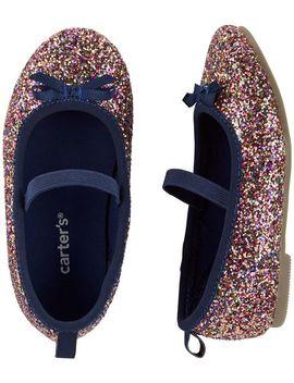 Carter's Glitter Ballet Flats by Carter's