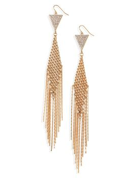 Mesh Tassel Earrings by Bp.