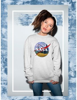 Nasa Sweater, Nasa Logo High Quality Soft Unisex Crew Neck Sweatshirt, Sweater, Pullover Shirt Gift Present Co0131 by Etsy