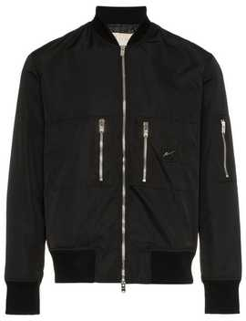 Quilted Shell Bomber Jacket by Prevu
