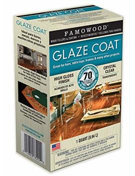 Famo Wood 5050080 Glaze Coat Epoxy Kit   1 Quart, Clear by Famo Wood