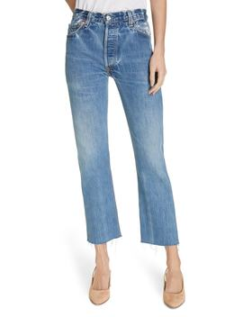 High Waist Stovepipe Jeans by Re/Done
