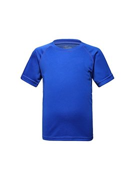 Trailside Supply Co. Big Boys' Quick Dry Active Sport Short Sleeve Compression Baselayer T Shirt by Trailside+Supply+Co.