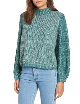 Marled Puff Sleeve Sweater by Bp.
