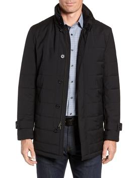 Quilted Car Coat by Cardinal Of Canada