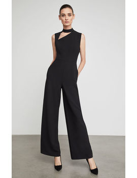 Asymmetric Cutout Jumpsuit by Bcbgmaxazria