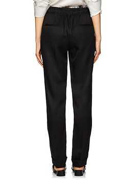 Silk Blend Suit Pants by Helmut Lang
