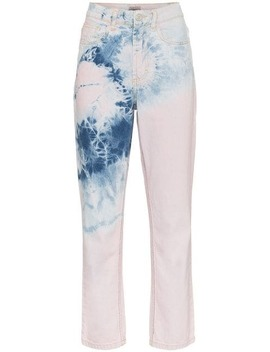 High Waisted Tye Dye Jeans by Ashley Williams