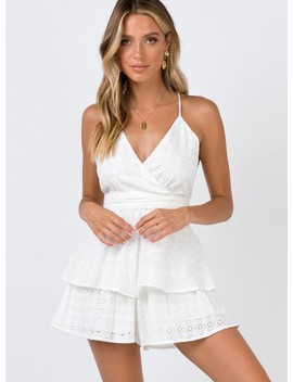 Asta Playsuit by Princess Polly
