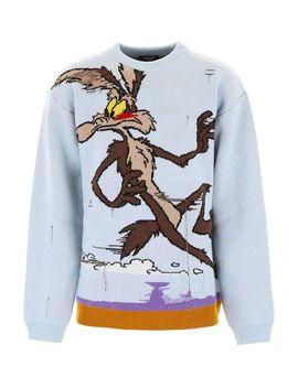 Calvin Klein Wile E Coyote Pullover by Calvin Klein