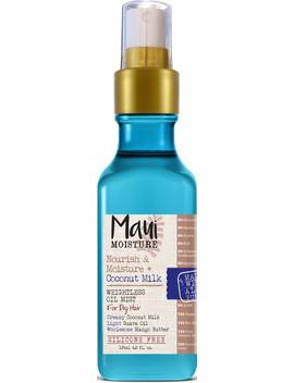 Nourish & Moisture + Coconut Milk Weightless Oil Mist by Maui Moisture