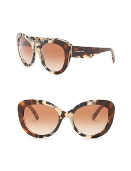 54mm Butterfly Sunglasses by Burberry