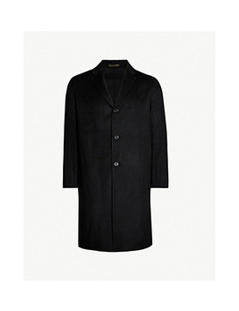 Chad Single Breasted Wool And Cashmere Blend Coat by Acne Studios