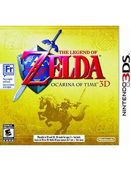 The Legend Of Zelda: Ocarina Of Time 3 D [Nintendo 3 Ds] by By          Nintendo