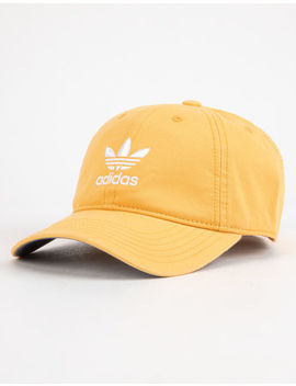 Adidas Originals Relaxed Chalk Orange Womens Strapback Hat by Adidas