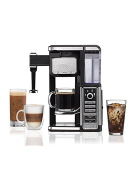 Ninja Single Serve, Pod Free Coffee Maker Bar With Hot And Iced Coffee, Auto I Q, Built In Milk Frother, 5 Brew Styles, And Water Reservoir (Cf111) (Certified Refurbished) by Shark Ninja
