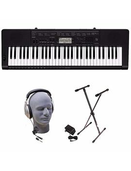 Casio Ctk 2550 Ppk 61 Key Premium Keyboard Pack With Stand, Headphones & Power Supply by Casio