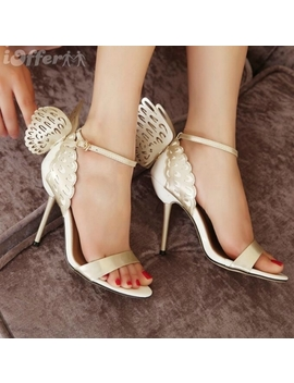 New Western Hollow Out Wings Party High Heels Sandal F1 by I Offer