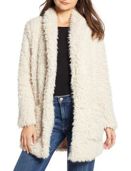 Faux Fur Mix A Lot Teddy Bear Coat by Bb Dakota
