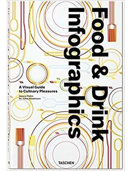Food & Drink Infographics: A Visual Guide To Culinary Pleasures by Simone Klabin