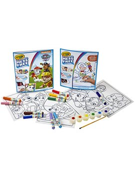 Color Wonder Paw Patrol Color Kit, Mess Free Color Wonder Markers, Coloring Pages, Coloring Gift For Kids (Amazon Exclusive) by Crayola