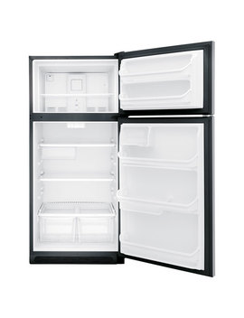 "Frigidaire 30"" 18 Cu. Ft. Freestanding Top Freezer Refrigerator (Fftr1821 Ts)   Stainless Steel by Frigidaire"