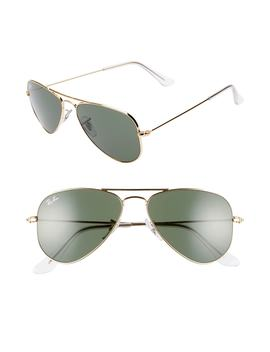 52mm Extra Small Aviator Sunglasses by Ray Ban