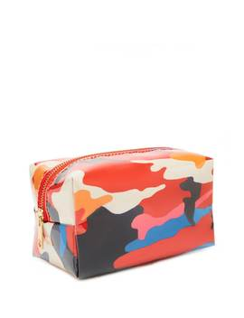 Camo Print Makeup Bag by Forever 21