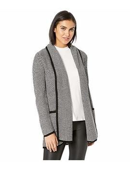 All Over It Striped Drape Front Cardigan by Jack By Bb Dakota