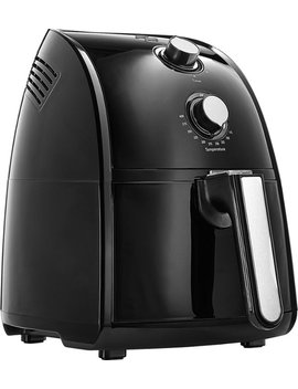 2.6 Qt. Analog Air Fryer   Black by Bella