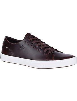 Men's Striper Ii Ltt Leather Sneaker by Sperry