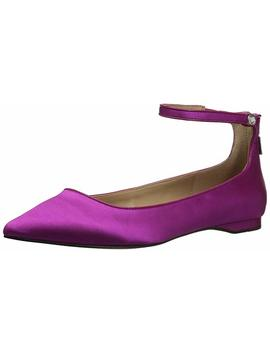 The Fix Women's Evie Military Inspired Ankle Strap Pointed Toe Flat by The+Fix