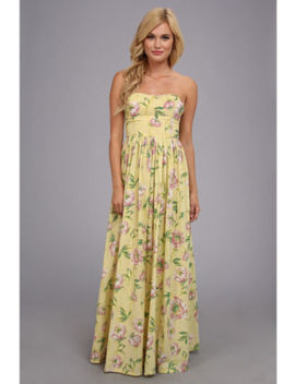 French Connection Piperlime 6 Nwt Spring Bloom Voile Maxi Dress S  6 by French Connection