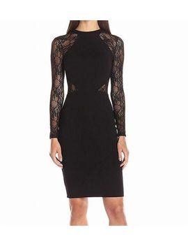 French Connection New Black Womens Size 6 Floral Lace Bandage Dress $158 217 by French Connection