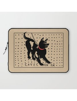 Cave Canem Laptop Sleeve by