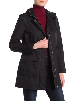 Drawcord Waist Trench Coat by Kate Spade New York